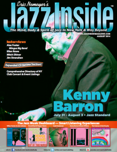 Jazz Inside Magazine Cover Page